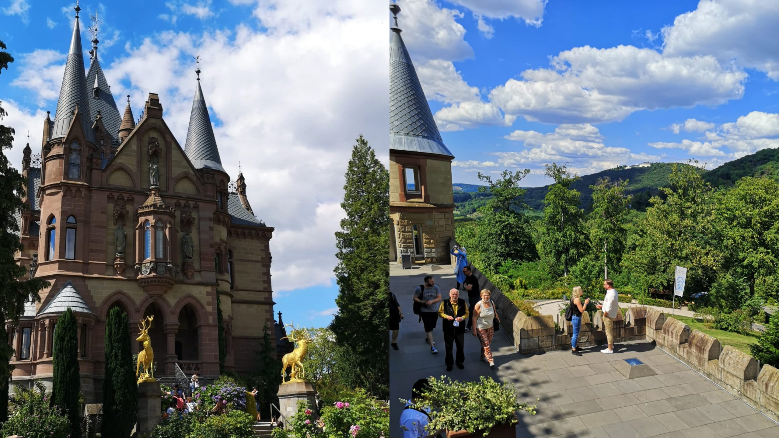 Kuzey Ren Bölgesinde Gezilecek Yerler 1 I Peri Masalı Kalesi Drachenburg