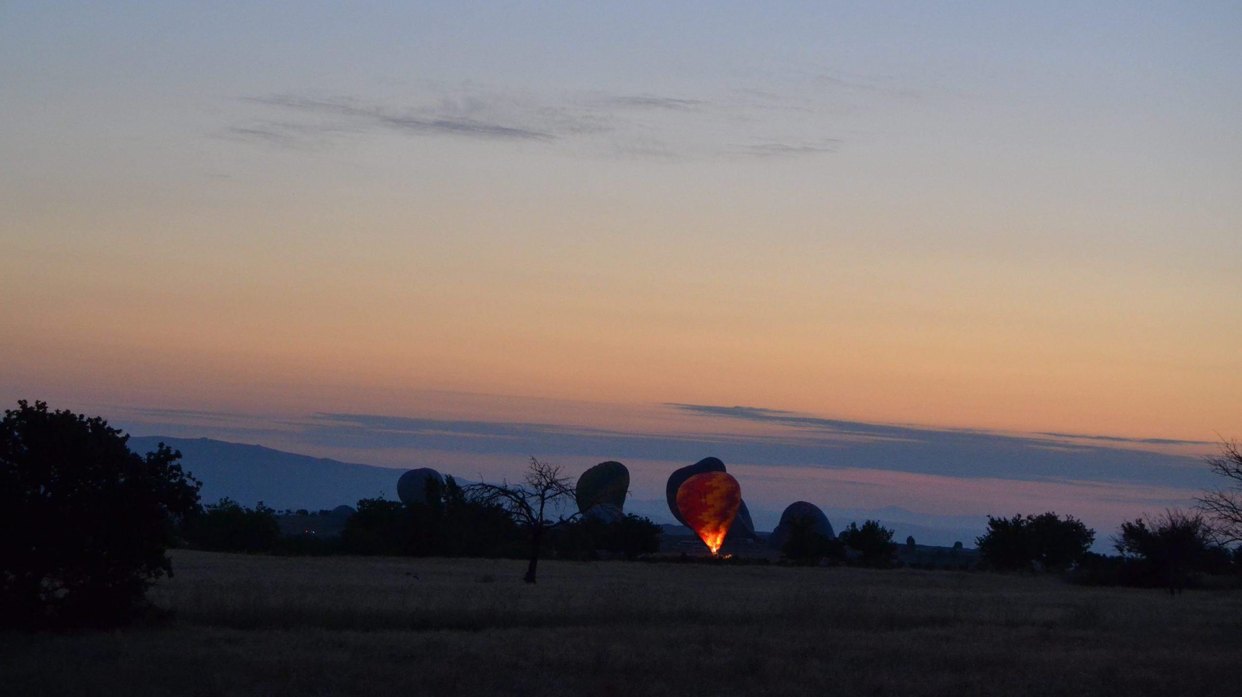 Kapadokya'da Balon Turu