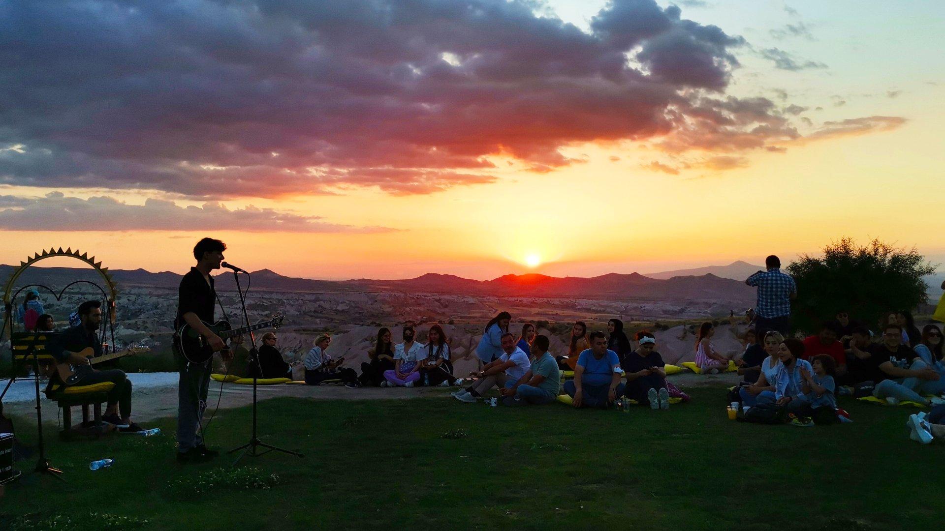 Kapadokya'da Gün Doğumu