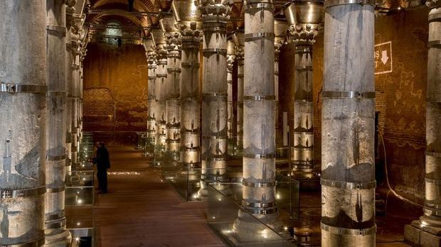 İstanbul Sarnıçları | İstanbul'da Görmeniz Gereken 12 Tarihi Sarnıç