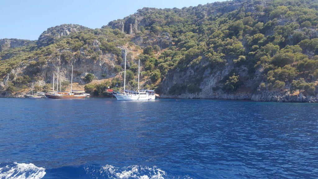 12 Adalar Tekne Turu - Fethiye Tekne Turu  Kızıl Ada