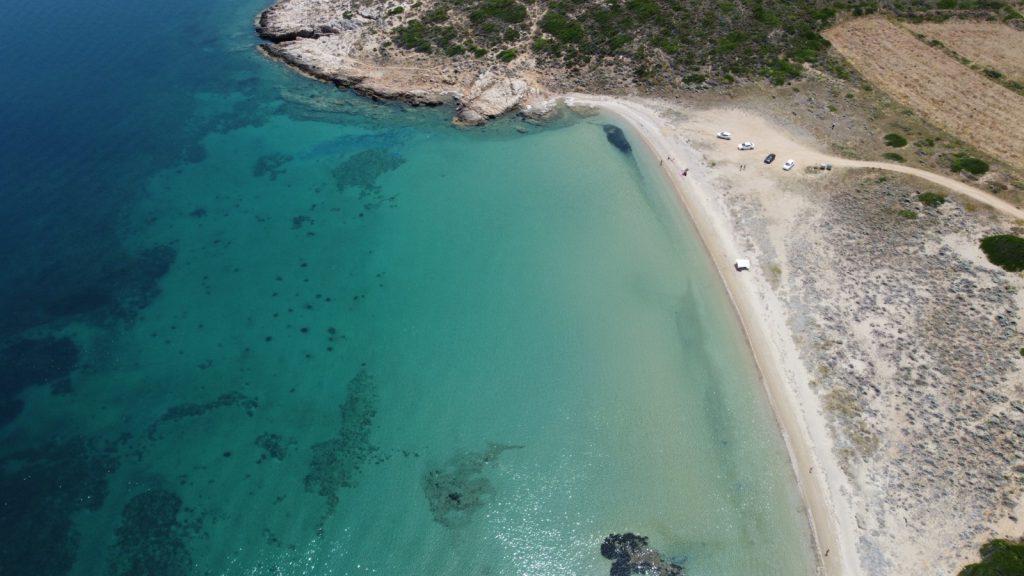 Tuzburnu Plajı ve Koyu - Bozcada Plajları ve Koyları