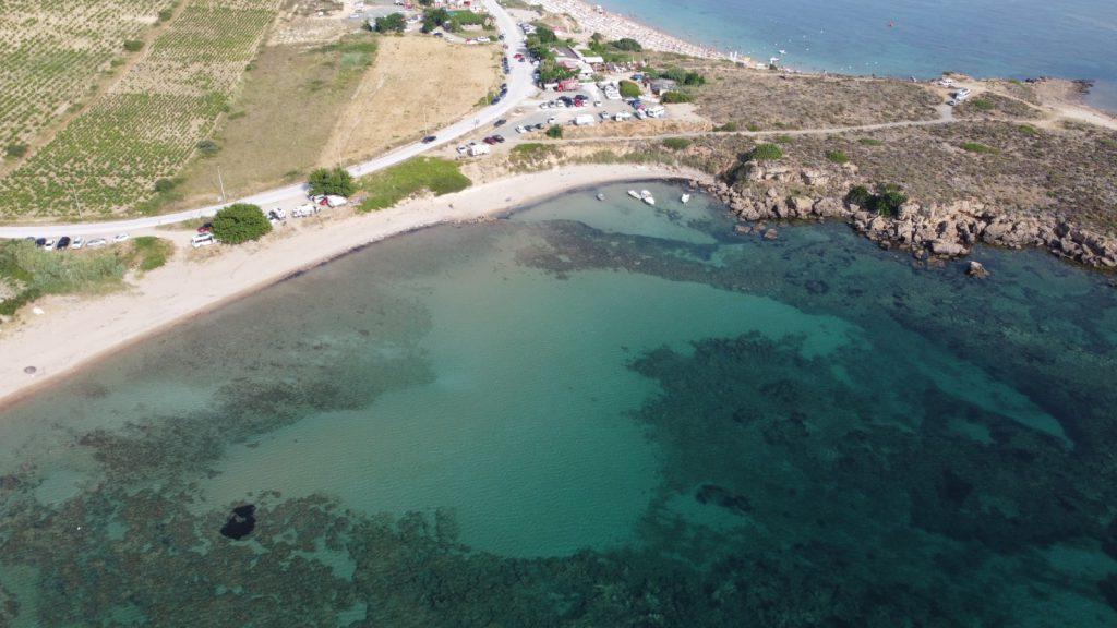 Sulubahçe Plajı - Bozcada Plajları ve Koyları