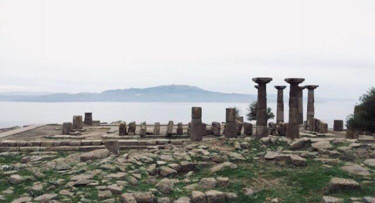 Çanakkale Gezilecek Yerler | Assos Behramkale Tapınağı