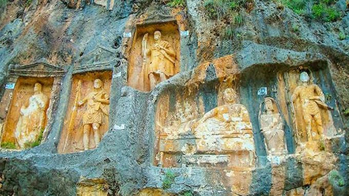 Mersin Tarihi Mekanları - Adamkayalar